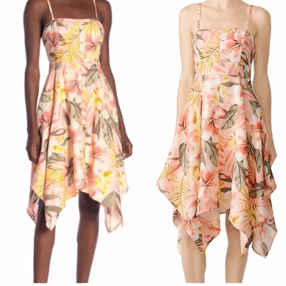 Joie Dresses & Skirts - Joie Dress Phara Linen Floral Sleeveless Shift NWT